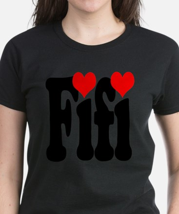 I love Fifi Women's Dark T-Shirt
