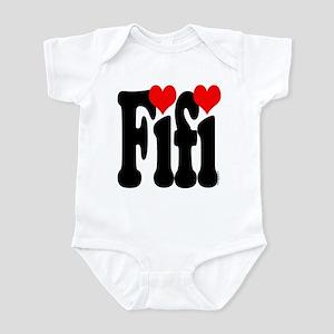 I love Fifi Infant Bodysuit