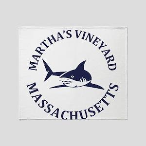 Summer Martha's Vineyard- Massachuse Throw Blanket