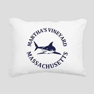 Summer Martha's Vineyard Rectangular Canvas Pillow
