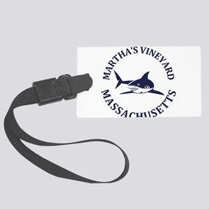 Summer Martha's Vineyard- Massac Large Luggage Tag