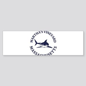 Summer Martha's Vineyard- Massachus Bumper Sticker