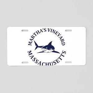 Summer Martha's Vineyard- M Aluminum License Plate
