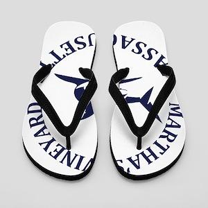 Summer Martha's Vineyard- Massachusetts Flip Flops