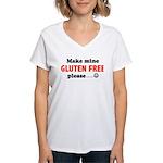 gluten free Women's V-Neck T-Shirt