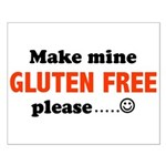 gluten free Small Poster