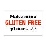 gluten free Mini Poster Print
