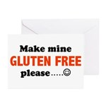 gluten free Greeting Cards (Pk of 10)