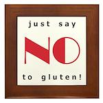 gluten free Framed Tile