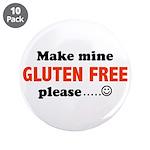 """gluten free 3.5"""" Button (10 pack)"""