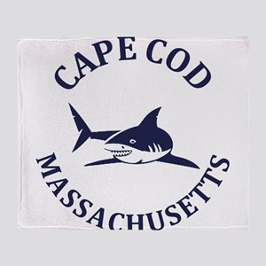 Summer cape cod- massachusetts Throw Blanket