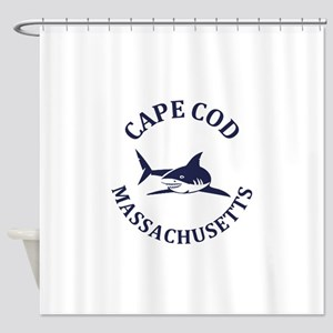 Summer cape cod- massachusetts Shower Curtain