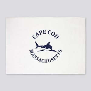 Summer cape cod- massachusetts 5'x7'Area Rug