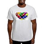 Heart Breaker Ash Grey T-Shirt