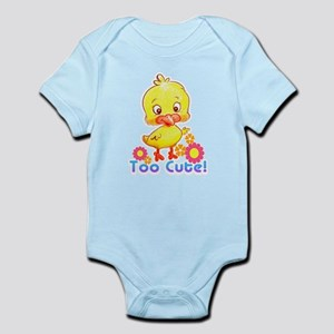 Too Cute Chick Infant Bodysuit