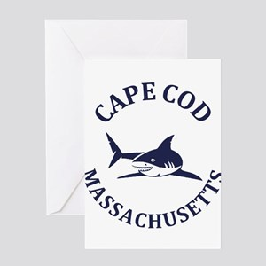 Summer cape cod- massachusetts Greeting Cards