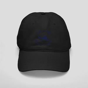 Summer cape cod- massachusett Black Cap with Patch