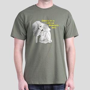 100+lb Momma's Girl Dark T-Shirt