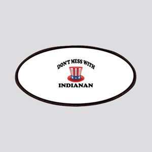 Do Not Mess With Indianan Patch