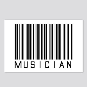 Musician Barcode Postcards (Package of 8)