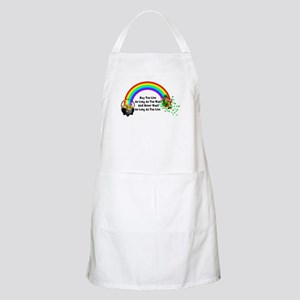May You Never Want Light Apron
