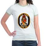 USS FORD Jr. Ringer T-Shirt