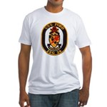 USS FORD Fitted T-Shirt