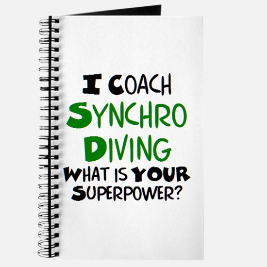 coach synchro diving Journal