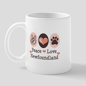Peace Love Newfoundland Mug