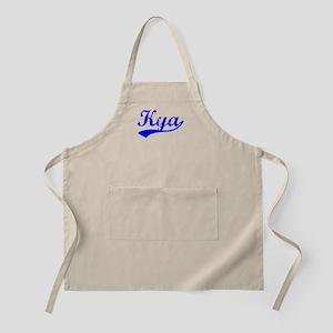 Vintage Kya (Blue) BBQ Apron