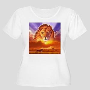 Lion King Women's Plus Size Scoop Neck T-Shirt
