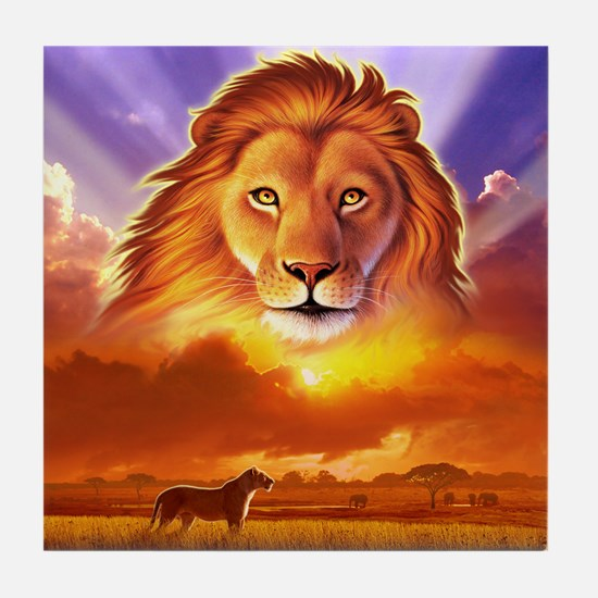Lion King Tile Coaster