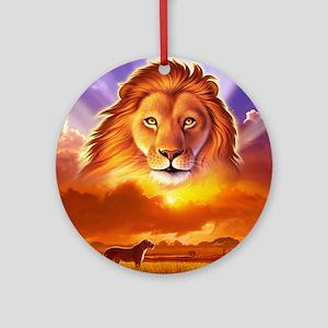 Lion King Ornament (Round)