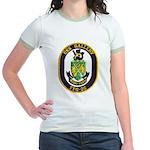 USS GALLERY Jr. Ringer T-Shirt