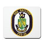 USS GALLERY Mousepad
