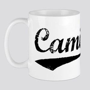 Vintage Camila (Black) Mug
