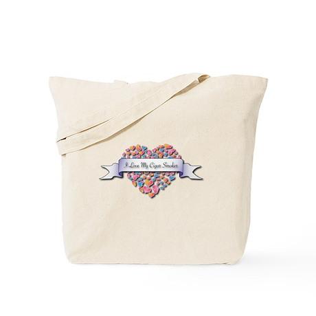 Love My Cigar Smoker Tote Bag