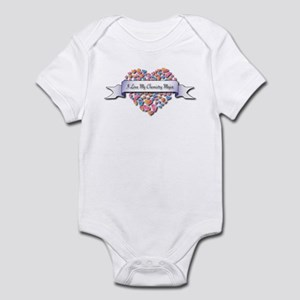 Love My Chemistry Major Infant Bodysuit