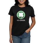 St Patricks Day Go Green Funn Women's Dark T-Shirt