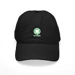 St Patricks Day Go Green Funn Black Cap
