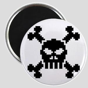 Pixel Skull Magnet