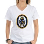 USS GARY Women's V-Neck T-Shirt