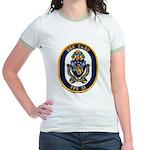 USS GARY Jr. Ringer T-Shirt
