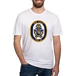 USS GARY Fitted T-Shirt