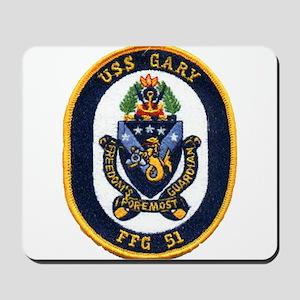 USS GARY Mousepad