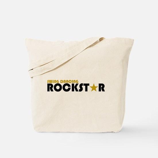 Swing Dancing Rockstar Tote Bag