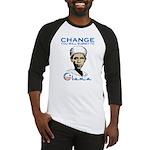 Obama - Change Baseball Jersey