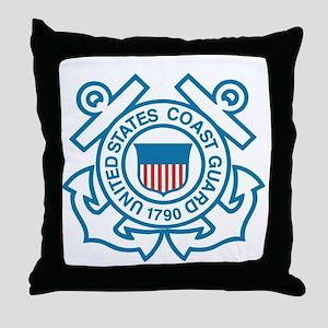 US Coast Guard Throw Pillow