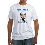 Obama - Change Fitted T-Shirt