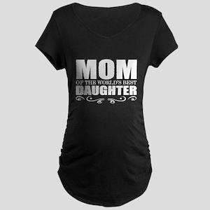 cute mom daughter Maternity T-Shirt